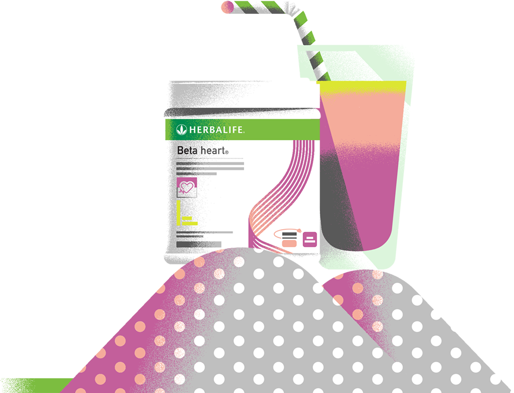 bicchiere con herbalife
